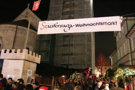 Schwäbisch Gmünd Weihnachtsmarkt.Staufersaga Weihnachtsmarkt Staufersaga Schwäbisch Gmünd E V